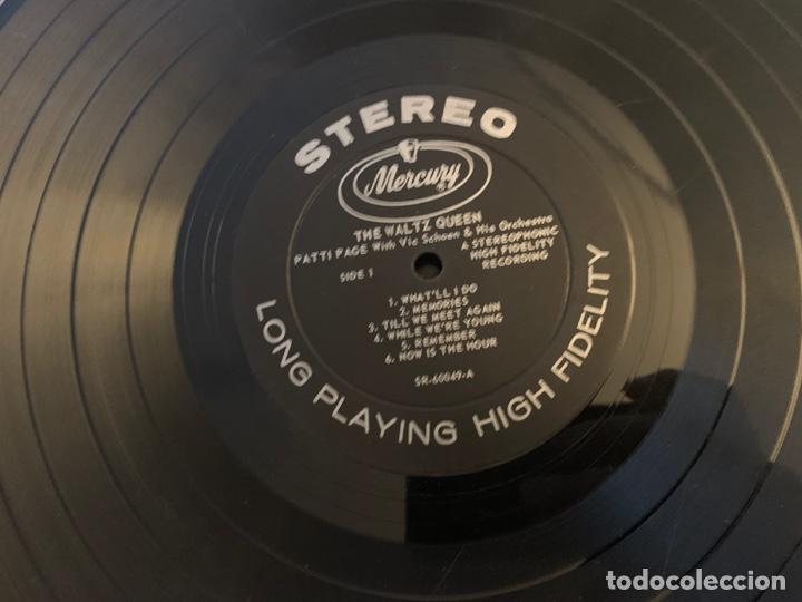 Discos de vinilo: Patti Page ?– The Waltz Queen Sello: Mercury ?– SR 60049 Formato: Vinyl, LP, Stereo País: US - Foto 4 - 153477822