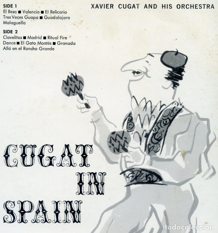 Discos de vinilo: XAVIER CUGAT AND HIS ORCHESTRA. Cugat in Spain. - Foto 2 - 153487566