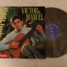 Discos de vinilo: VINILO VÍCTOR MANUEL. LP. BELTER 22400. Lote 152479774