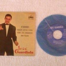 Discos de vinilo: VINILO SINGLE JOSÉ GUARDIOLA.EXODUS.. Lote 152493614