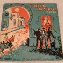 Discos de vinilo: VINILO SINGLE .FINITA IMPERIO.DE LOS 50.RARO.. Lote 152494150