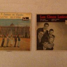 Discos de vinilo: VINILO SINGLE LOS CINCO LATINOS.LOTE DE 2.. Lote 152495010