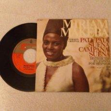 Discos de vinilo: VINILO SINGLE MIRIAM MAKEBA. Lote 152495126
