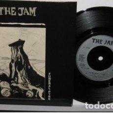 Discos de vinilo: THE JAM / FUNERAL PYRE / DISGUISES 1981 - MOD, PAUL WELLER, RARA 1ª EDIC ORG UK, IMPECABLE !!. Lote 153499002