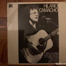 Discos de vinilo: HILARIO CAMACHO ?– HILARIO CAMACHO SELLO: CAUDAL ?– CAU-506 FORMATO: VINYL, LP, ALBUM . Lote 153503330