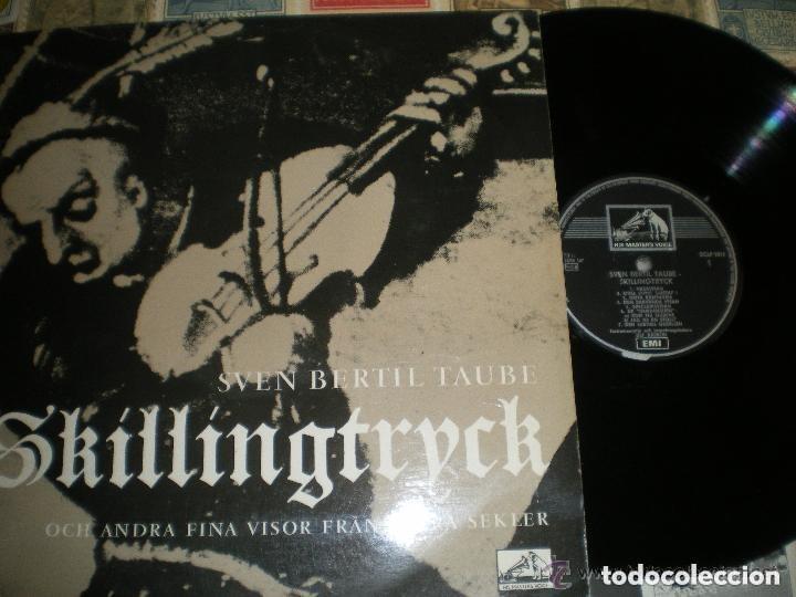 SVEN BERTIL TAUBE SKILLINGTRYCK (THE MASTER VOICE -1962) OG OSLO (Música - Discos - LP Vinilo - Jazz, Jazz-Rock, Blues y R&B)