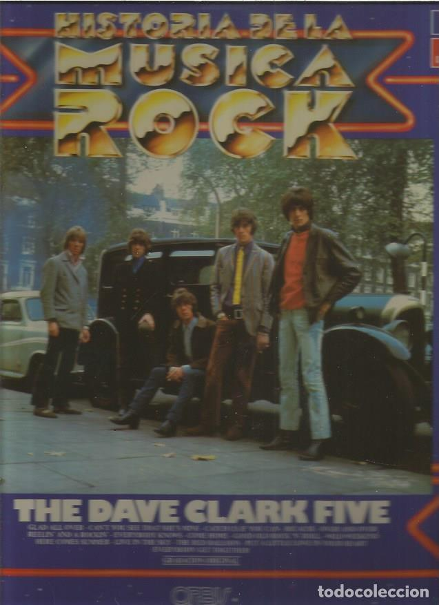 HISTORIA MUSICA ROCK DAVE CLARK FIVE (Música - Discos - LP Vinilo - Otros estilos)