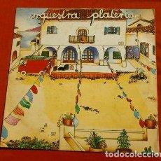 Discos de vinilo: ORQUESTA PLATERIA (DISCO LP 1980) 1ER LP SIN NOMBRE - AMPARITO ROCA, PEDRO NAVAJA, MAMBO Nº 8 ..... Lote 153528318