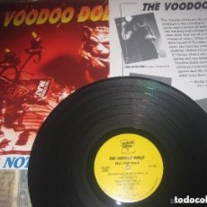 Discos de vinilo: THE VOODOO DOLLS NOT FOR SALE +ENCARTE ( HELTER SKELTER RECORDS-1993) OG USA, GARAJE. Lote 153534162