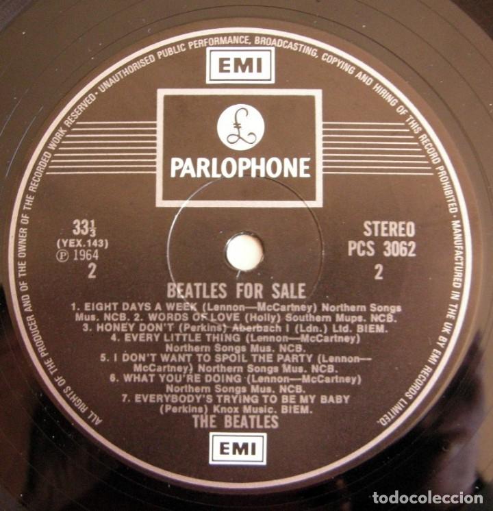 Discos de vinilo: The beatles - Beatles for sale / ed UK gatefold - Foto 6 - 150945930