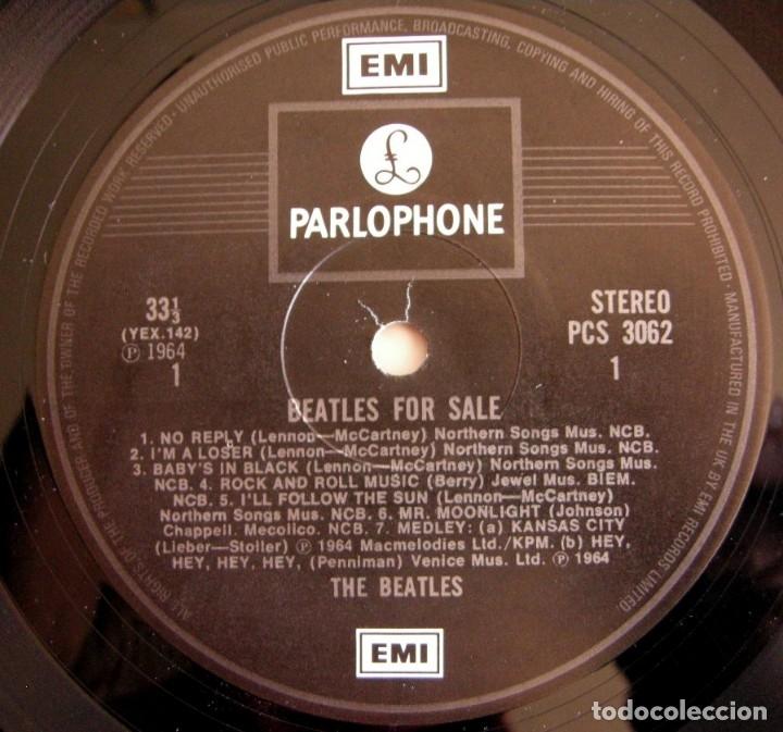 Discos de vinilo: The beatles - Beatles for sale / ed UK gatefold - Foto 7 - 150945930