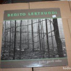 Discos de vinilo: BENITO LERTXUNDI, PAZKO GAIERDI ONDUA, LP. Lote 153542006