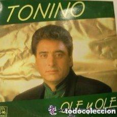 Discos de vinilo: TONINO - OLE Y OLE . LP FLAMENCO HORUS 1990. Lote 153545946