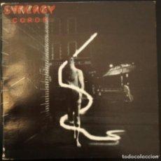 Discos de vinilo: SINERGY-LARRY FAST. -CORDS-. EX MIEMBRO DE LA BANDA DE PETER GABRIEL. Lote 153548630