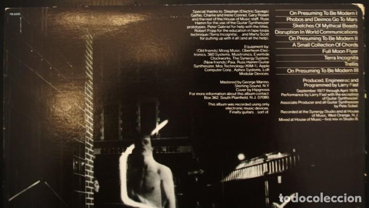 Discos de vinilo: Sinergy-Larry Fast. -Cords-. Ex miembro de la banda de Peter Gabriel - Foto 3 - 153548630