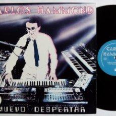 Discos de vinilo: CARLOS HAMMOND. NUEVO DESPERTAR. MAXI ACUARIO A-011. ESPAÑA 1984. SYNTH POP.. Lote 153554910