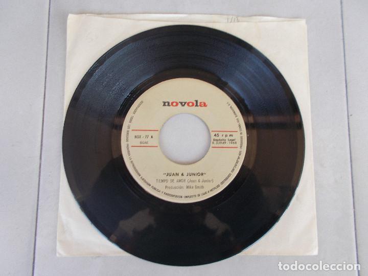 JUAN Y JUNIOR - TIEMPO DE AMOR - SG - 1968 (Música - Discos - Singles Vinilo - Grupos Españoles 50 y 60)
