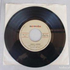 Discos de vinilo: JUAN Y JUNIOR - TIEMPO DE AMOR - SG - 1968. Lote 153555718