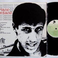 Discos de vinilo: ADRIANO CELENTANO. LP SELECTOR PHL 5017. ESPAÑA 1977. BUENA SERA SIGNORINA. CIAO TI DIRO.. Lote 153561034