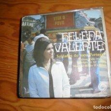 Disques de vinyle: HELENA VALENTE. SOLDADOS DO MEU PORTUGAL + 3. EP. DEDICADO POR LA CANTANTE. RODA, 1976. ED. PORTUGAL. Lote 153561626