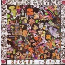Discos de vinilo: ESTADO CRITICO REGGAE RAP, MAXI-SINGLE SPAIN 1991. Lote 153564406