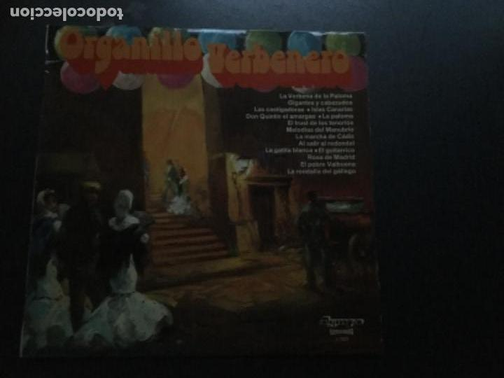 ORGANILLO VERBENERO (Música - Discos - LP Vinilo - Clásica, Ópera, Zarzuela y Marchas)