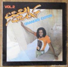 Discos de vinilo: EDDY GRANT. GRANDES ÉXITOS VOL.2. ICE RECORDS, 17.3430/0, ESPAÑA, 1982.. Lote 153571850