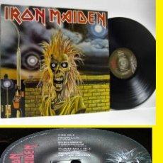 Discos de vinilo: IRON MAIDEN 1980 - 1º LP / PAUL DI'ANNO / RARA 1ª EDIC. ORG UK, 1º PRESS COLLECTORS !! EXC. Lote 153576494