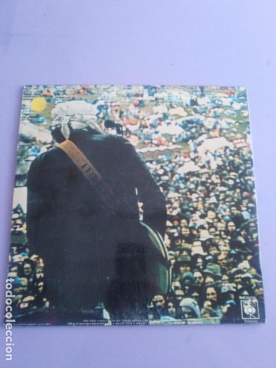 Discos de vinilo: BOB DYLAN - HARD RAIN. LP ORIGINAL SPAIN .S 86016. CBS RECORDS 1976 CON ENCARTE (LETRAS CANCIONES) - Foto 3 - 153592366