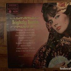 Discos de vinilo: THE INTERNATIONAL HITS ORCHESTRA ?– LIGHTLY LATIN SELLO: MUSIC FOR PLEASURE ?– MFP 1234 FORMATO: LP. Lote 153593494