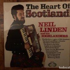 Discos de vinilo: NEIL LINDEN AND HIS HIGHLANDERS* ?– THE HEART OF SCOTLAND SELLO: HALLMARK RECORDS ?– CHM 633 . Lote 153593638
