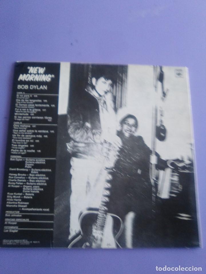 Discos de vinilo: LP. BOB DYLAN - NEW MORNING - CBS 32267 . SPAIN 1883. - Foto 4 - 153593902