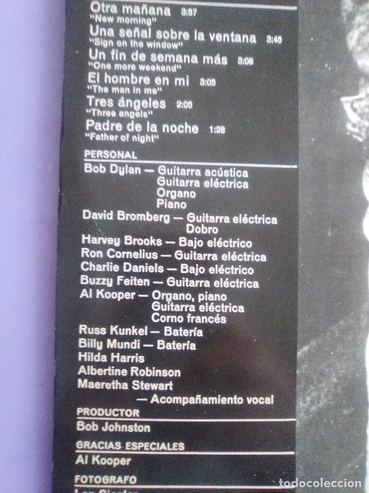 Discos de vinilo: LP. BOB DYLAN - NEW MORNING - CBS 32267 . SPAIN 1883. - Foto 8 - 153593902