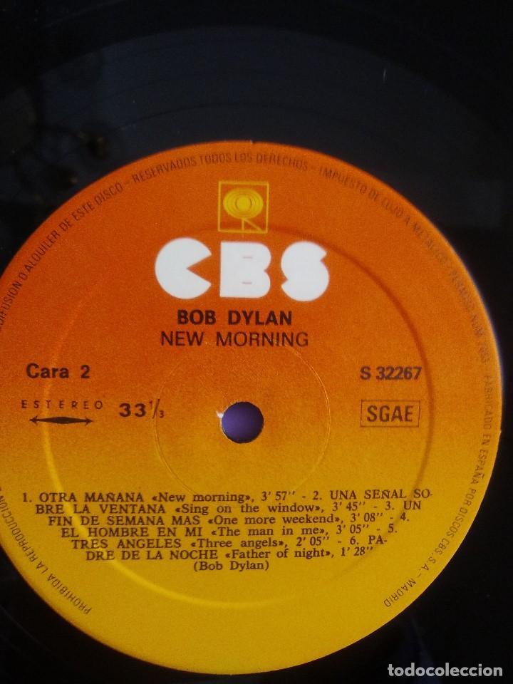 Discos de vinilo: LP. BOB DYLAN - NEW MORNING - CBS 32267 . SPAIN 1883. - Foto 11 - 153593902