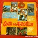 Discos de vinilo: COSTA DEL ATLANTICO (LP 1969) PASODOBLES, FLAMENCO CON GUITARRA, TUNA - LOS TRES HERNANDEZ. Lote 153598082