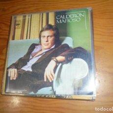Discos de vinilo: JUAN CARLOS CALDERON. MAFIOSO / MARILYN . CBS, 1975 . IMPECABLE (#). Lote 153647338