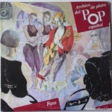 Discos de vinilo: ARCHIVO DE PLATA DEL POP ESPAÑOL: FANS (TEQUILA / HOMBRES G / SECRETOS) . Lote 153650398