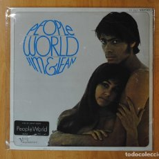 Discos de vinilo: JIM & JEAN - PEOPLE WORLD - LP. Lote 153659917