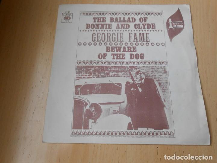 GEORGIE FAME, SG, THE BALLAD OF BONNIE AND CLYDE + 1, AÑO 1968 (Música - Discos - Singles Vinilo - Pop - Rock Extranjero de los 50 y 60)