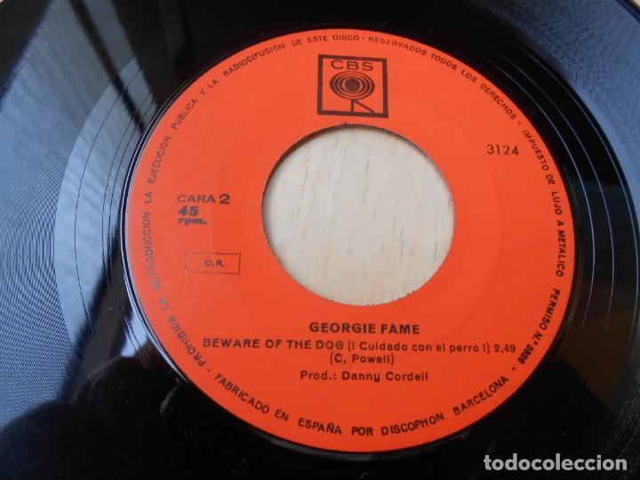 Discos de vinilo: GEORGIE FAME, SG, THE BALLAD OF BONNIE AND CLYDE + 1, AÑO 1968 - Foto 4 - 153676434