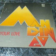 Discos de vinilo: MANDINGO - YOUR LOVE. Lote 153688898