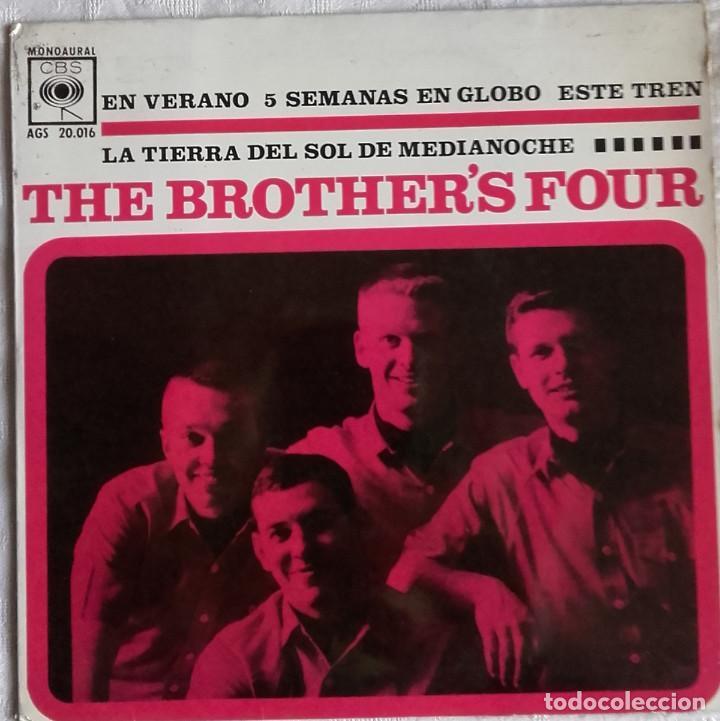 THE BROTHERS FOUR: EN VERANO (Música - Discos - Singles Vinilo - Pop - Rock Internacional de los 50 y 60)
