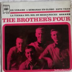 Discos de vinilo: THE BROTHERS FOUR: EN VERANO. Lote 153689070