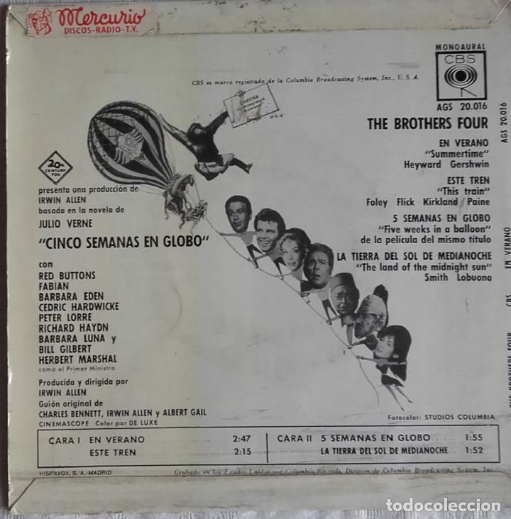 Discos de vinilo: The Brothers Four: En Verano - Foto 2 - 153689070