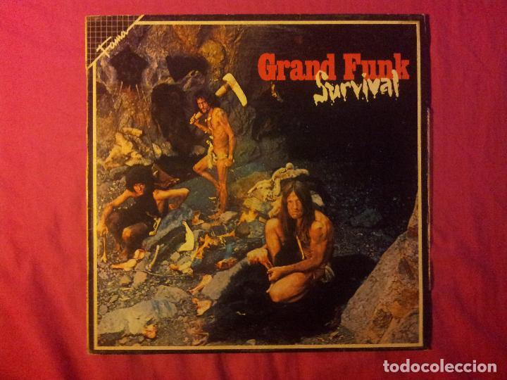 GRAND FUNK RAILROAD. SURVIVAL (Música - Discos - LP Vinilo - Pop - Rock - Extranjero de los 70)