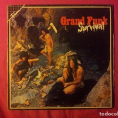 Discos de vinilo: GRAND FUNK RAILROAD. SURVIVAL. Lote 153700198