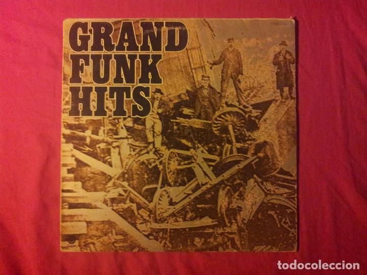 GRAND FUNK RAILROAD. HITS (Música - Discos - LP Vinilo - Pop - Rock - Extranjero de los 70)