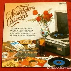 Discos de vinilo: NOSTALGICOS CARROZAS (LP 1981) THE SHADOWS - THE EVERLY BROTHERS - LOS SIREX - THE PLATERS - MINA ... Lote 153705270