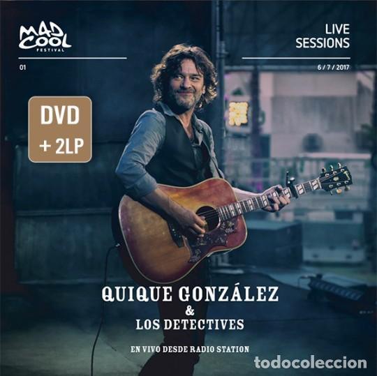 2LP+ DVD QUIQUE GONZALEZ VINILO EN VIVO DESDE RADIO STATION EDICION LIMITADA Y NUMERADA (Música - Discos - LP Vinilo - Cantautores Españoles)
