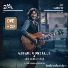 Discos de vinilo: 2LP+ DVD QUIQUE GONZALEZ VINILO EN VIVO DESDE RADIO STATION EDICION LIMITADA Y NUMERADA. Lote 271586513